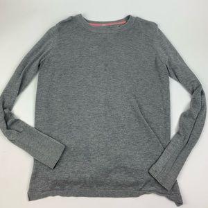 Lululemon Sweater Yoga Open Back Top